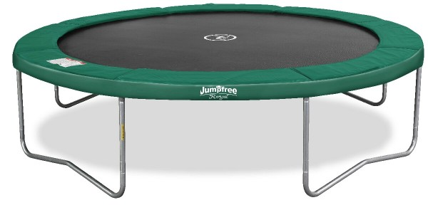 Trampoline Jumpfree Royal 12' - grün