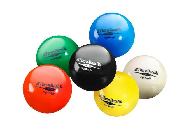 Gewichtsball Set 6 Bälle Soft Weight Thera Band