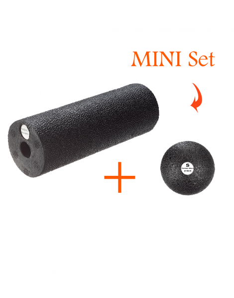 Faszien Massage Mini Set - Rolle + Ball